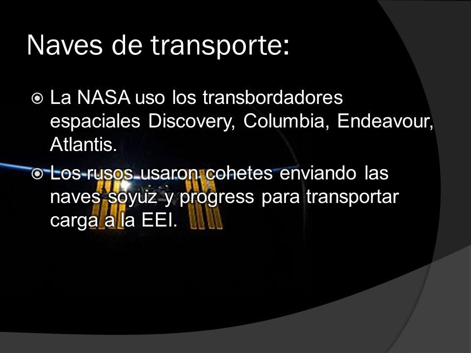 Naves de transporte: