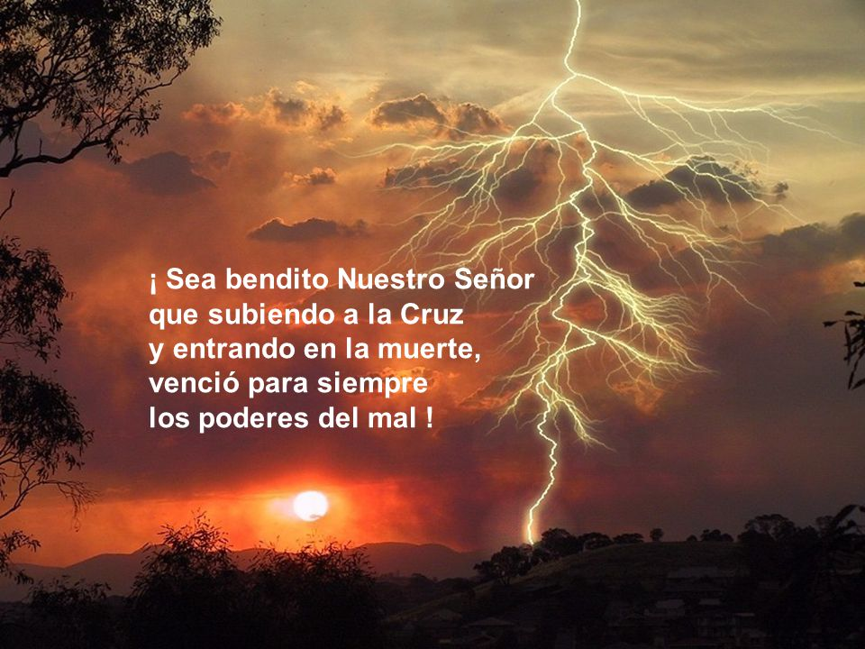 Esta es la noche que trae la Buena Noticia a los pobres, abre los ojos de los ciegos, libera a los prisioneros y anuncia el perdón a los pecadores.