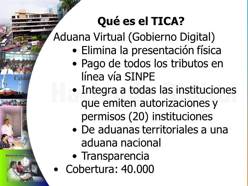 Qué es el TICA.