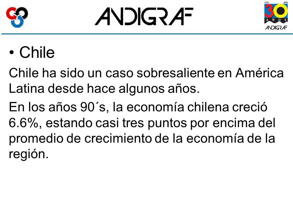 Chile Chile ha sido un caso sobresaliente en América Latina desde hace algunos años.
