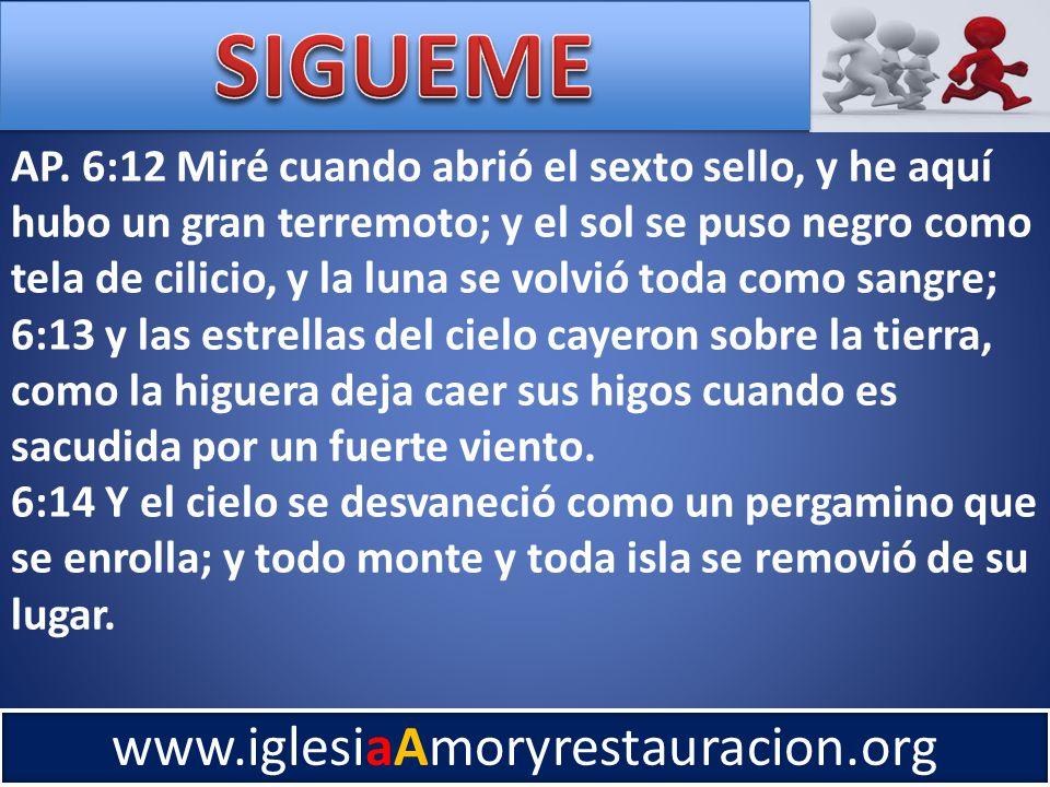 www.iglesiaAmoryrestauracion.org AP.
