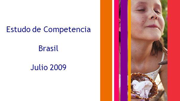Estudo de Competencia Brasil Julio 2009