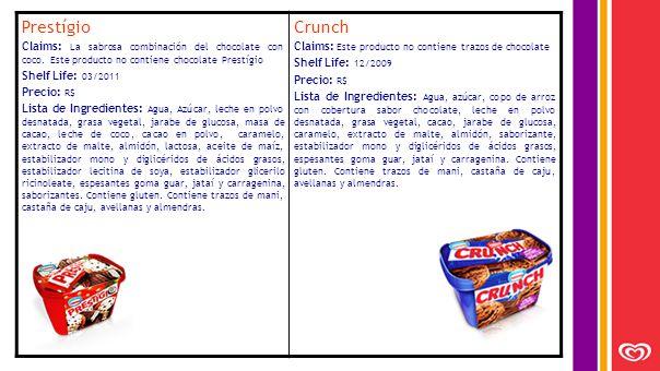 Prestígio Claims: La sabrosa combinación del chocolate con coco.
