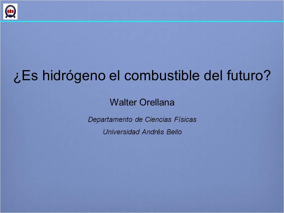 ¿Es hidrógeno el combustible del futuro.
