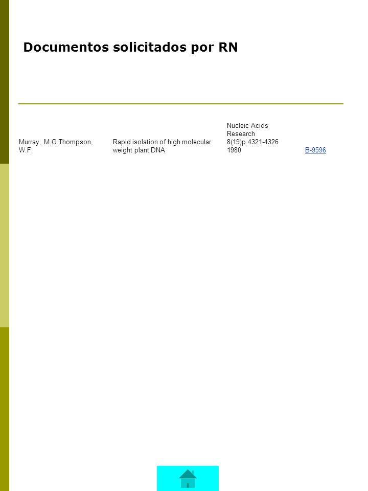 Documentos solicitados por UMT Srichatrapimuk, V.W.Cooper, S.L.