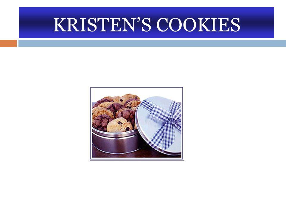 KRISTEN'S COOKIES