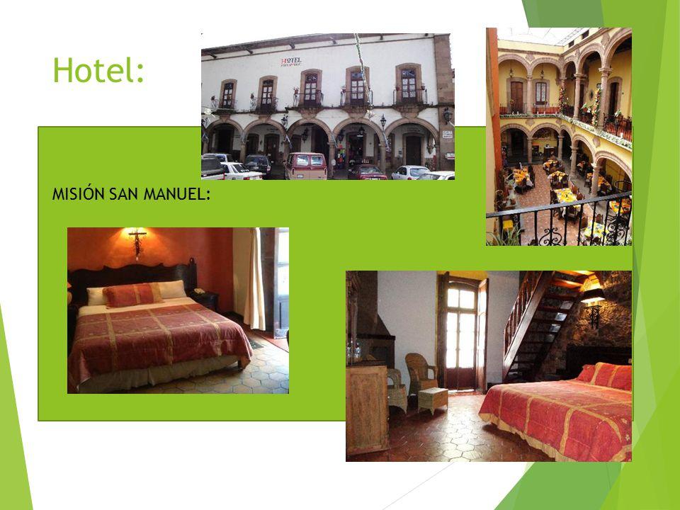 Hotel: MISIÓN SAN MANUEL: