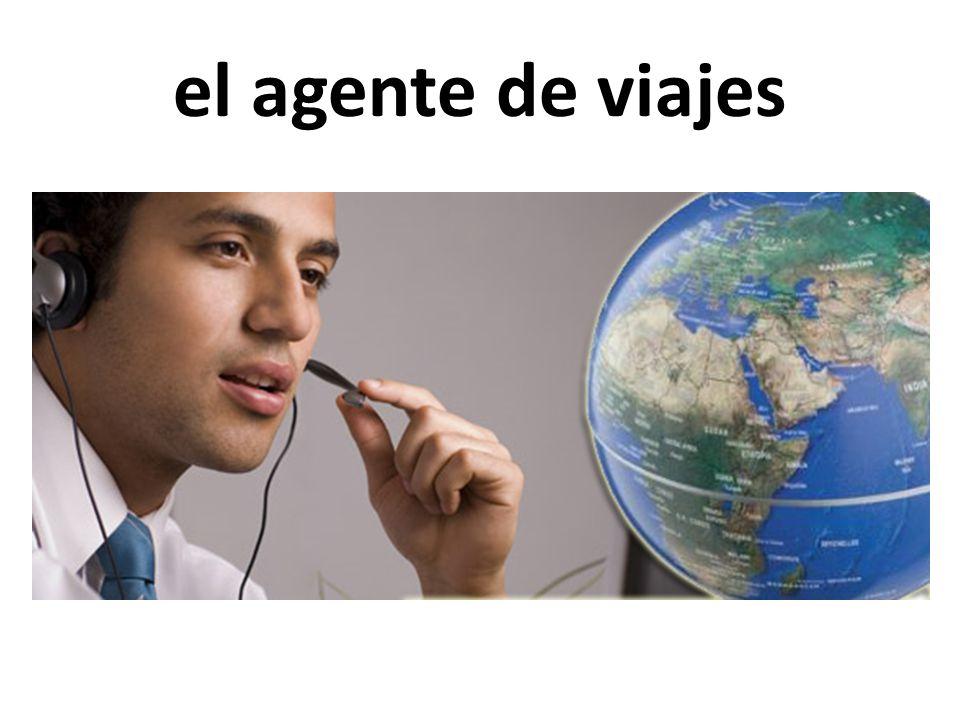 el agente de viajes