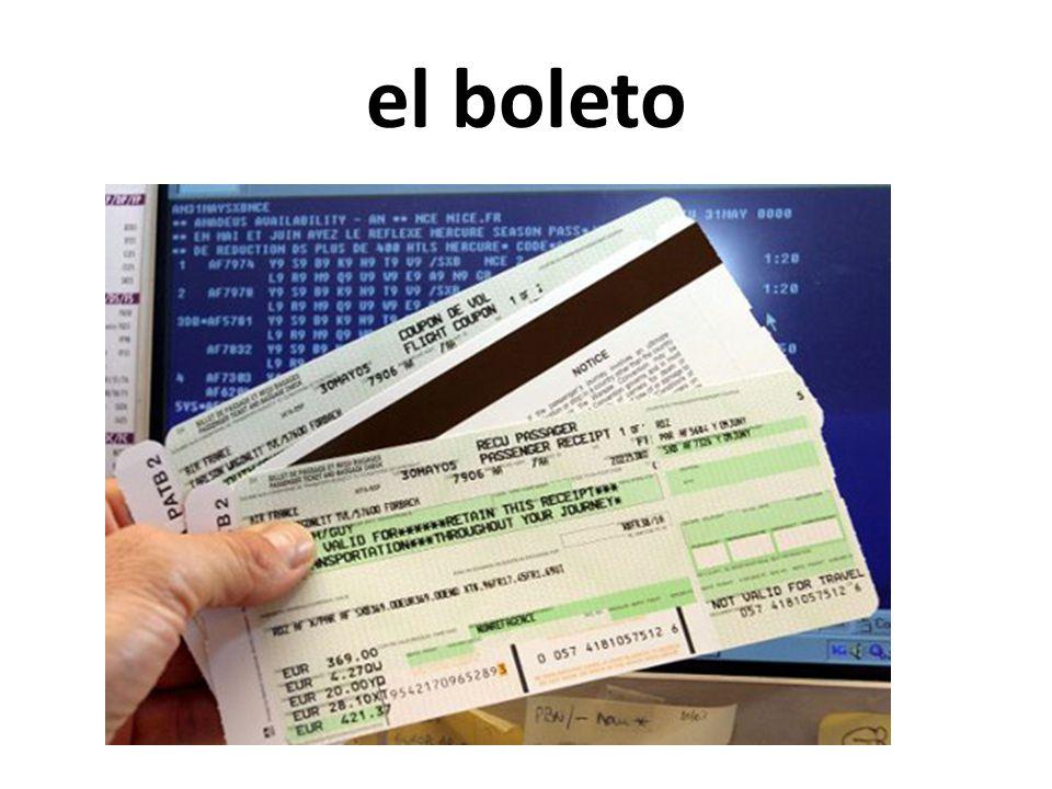 el boleto