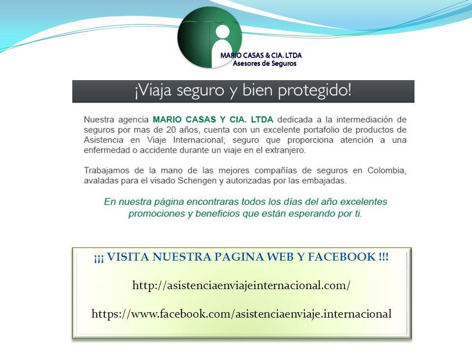 ¡¡¡ VISITA NUESTRA PAGINA WEB Y FACEBOOK !!.