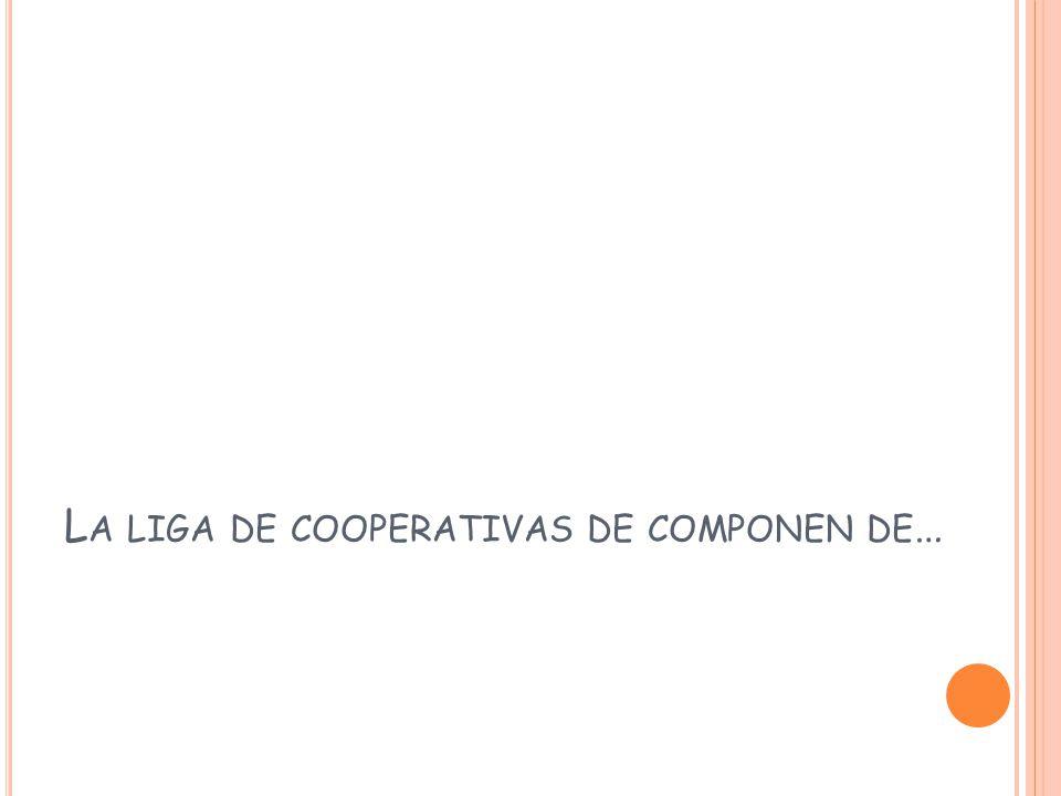 L A LIGA DE COOPERATIVAS DE COMPONEN DE …