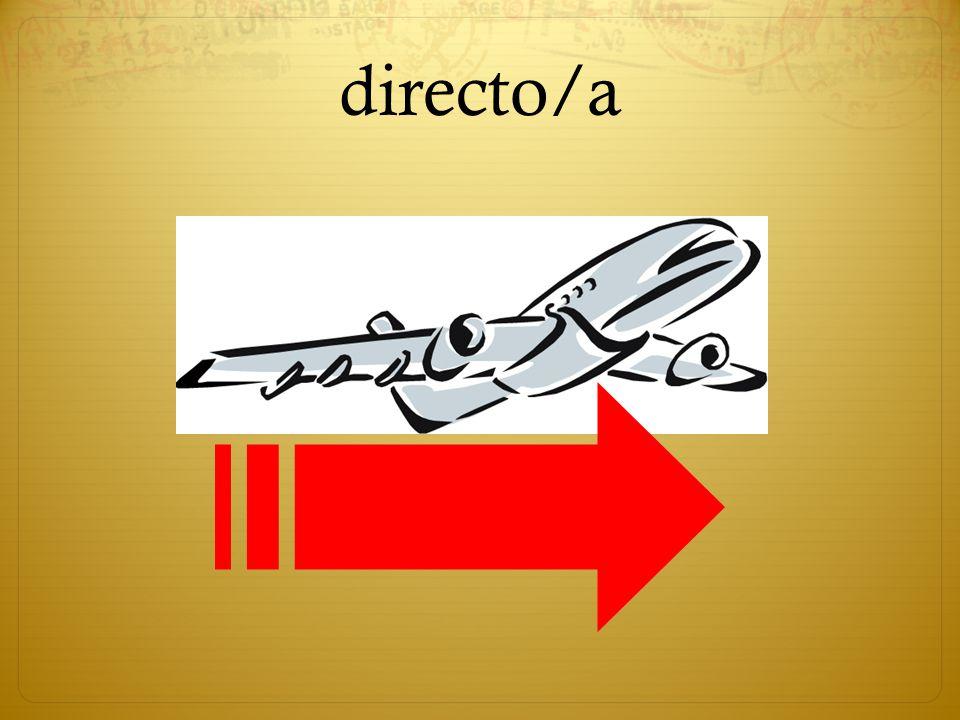 directo/a