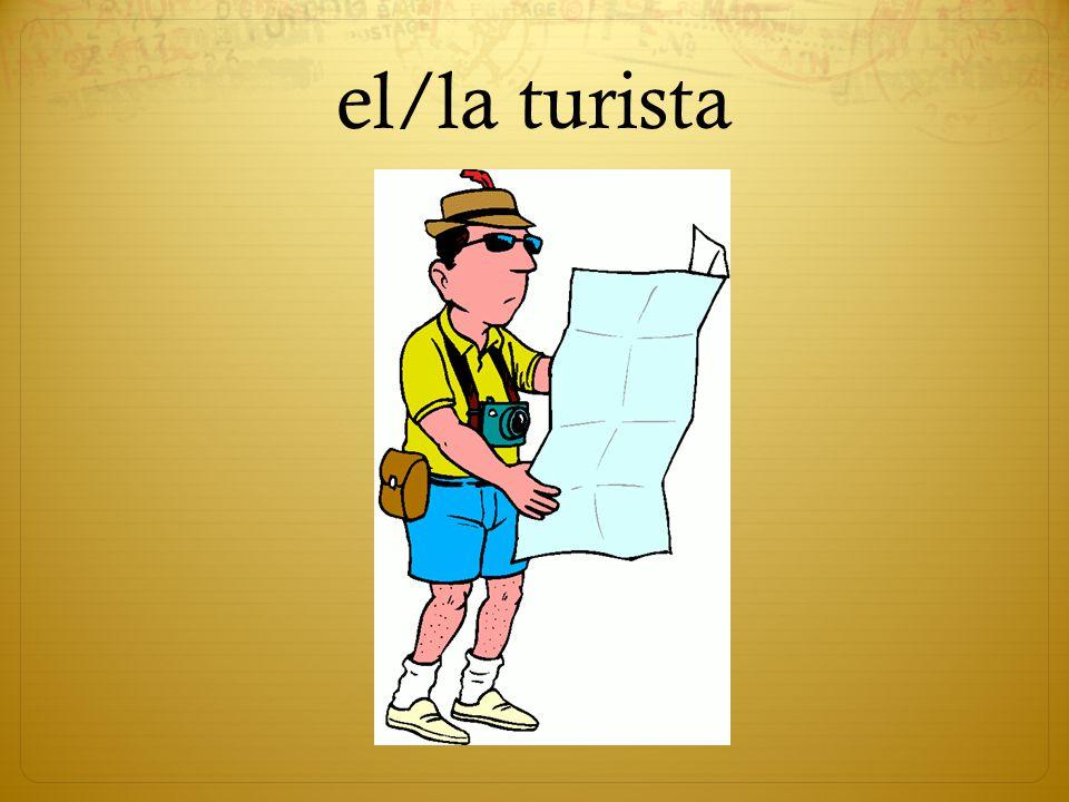 el/la turista