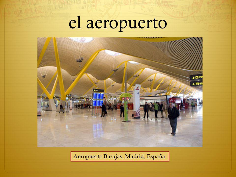 el aeropuerto Aeropuerto Barajas, Madrid, España