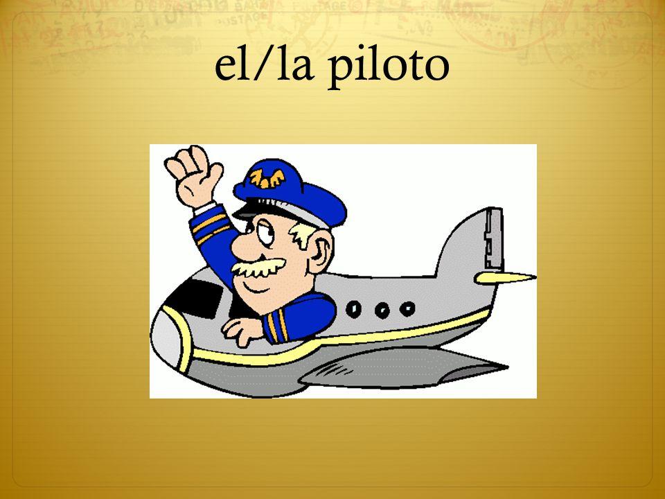 el/la piloto