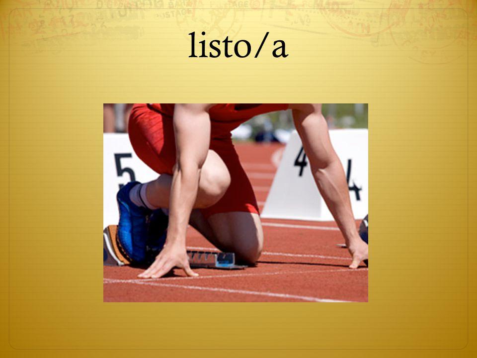 listo/a
