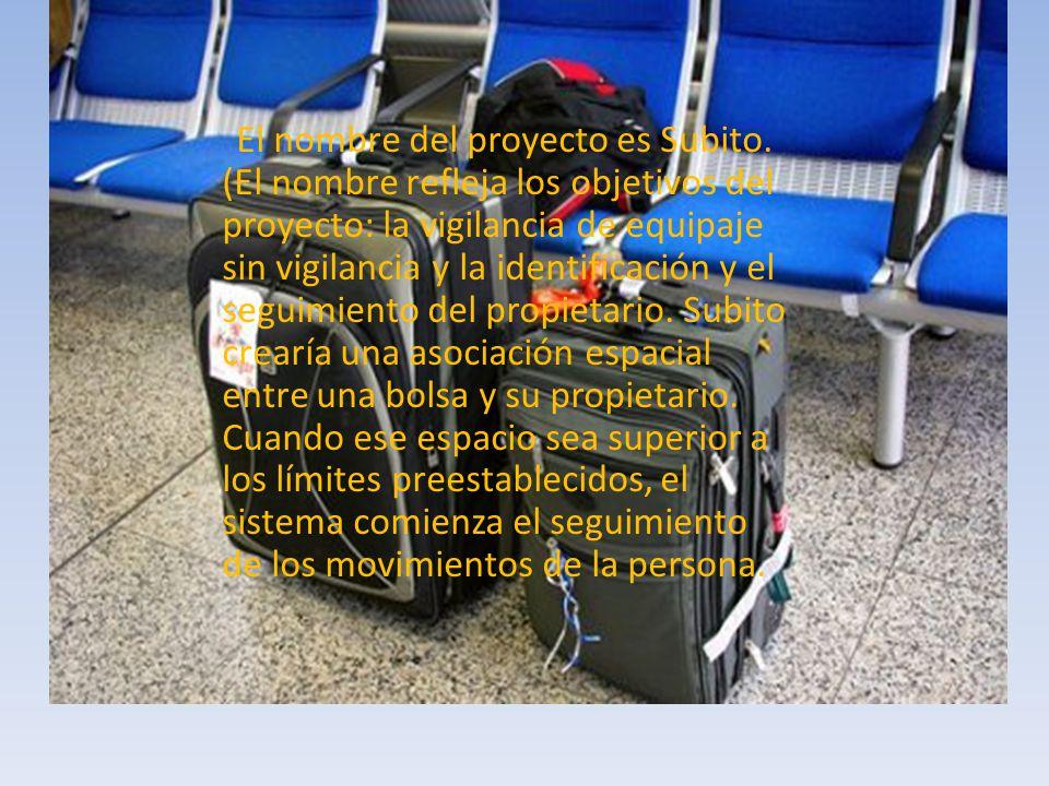 El nombre del proyecto es Subito.