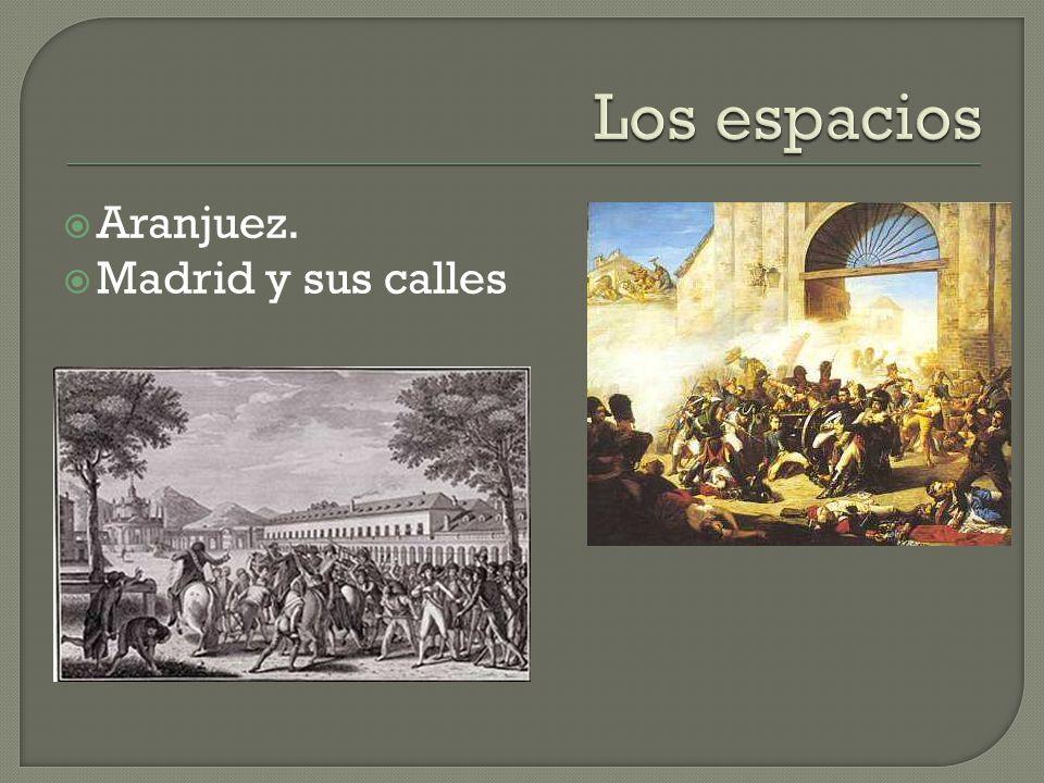  Aranjuez.  Madrid y sus calles