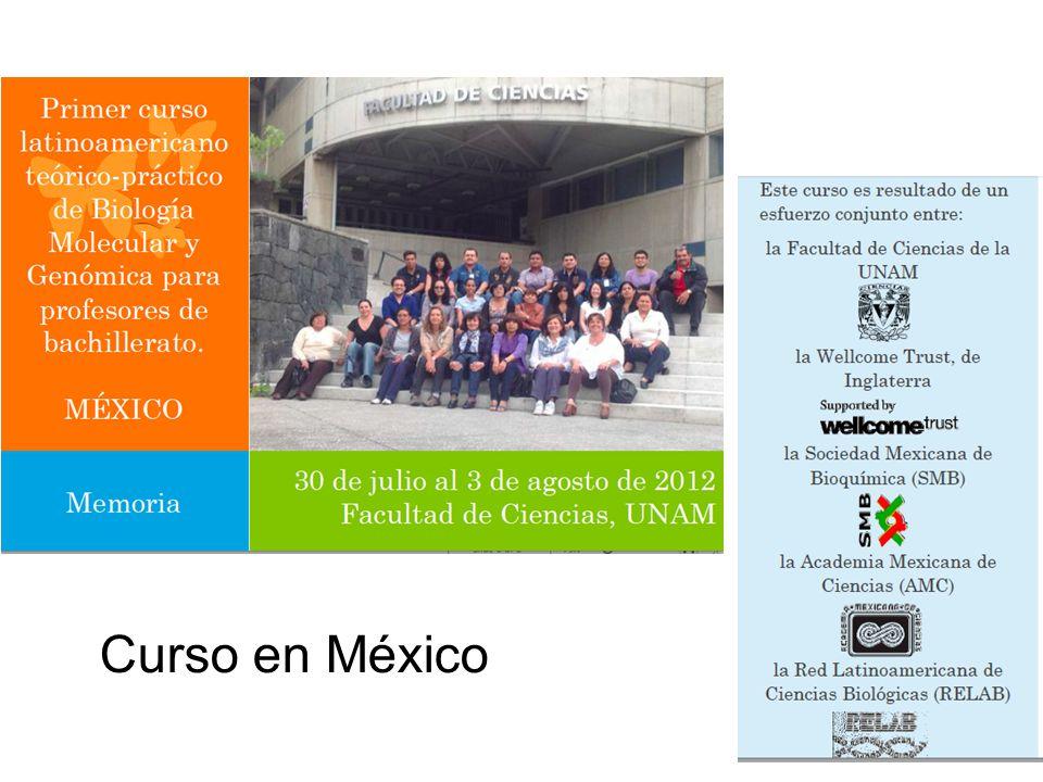 Curso en México