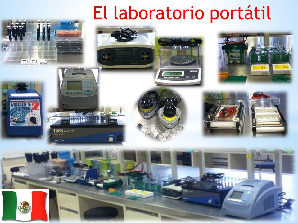 El laboratorio portátil
