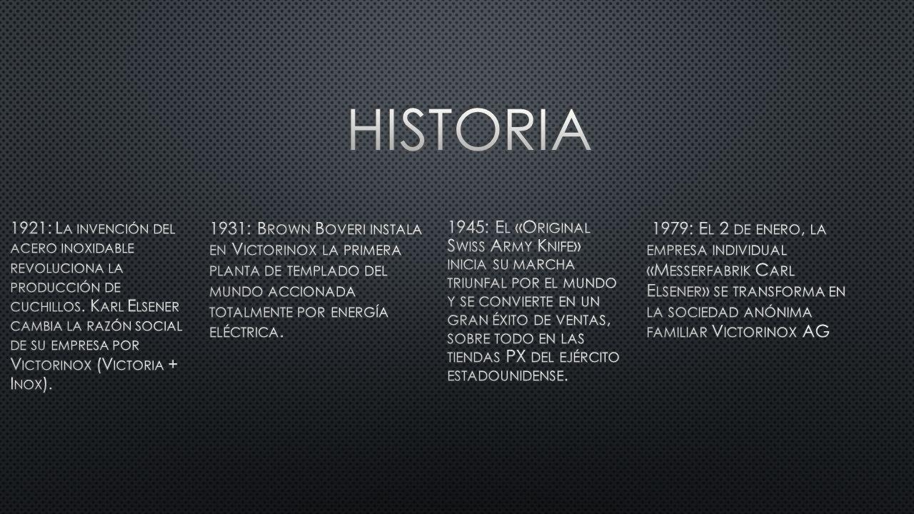 1921: L A INVENCIÓN DEL ACERO INOXIDABLE REVOLUCIONA LA PRODUCCIÓN DE CUCHILLOS.