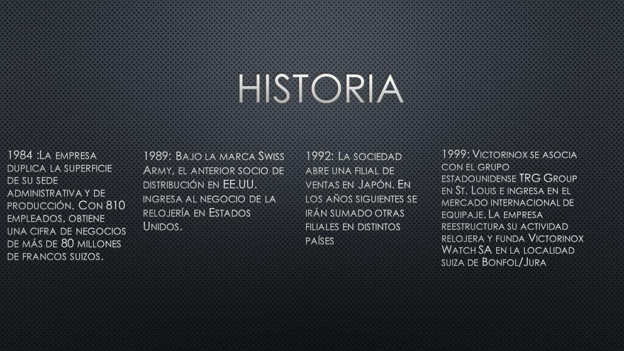 1984 :L A EMPRESA DUPLICA LA SUPERFICIE DE SU SEDE ADMINISTRATIVA Y DE PRODUCCIÓN.