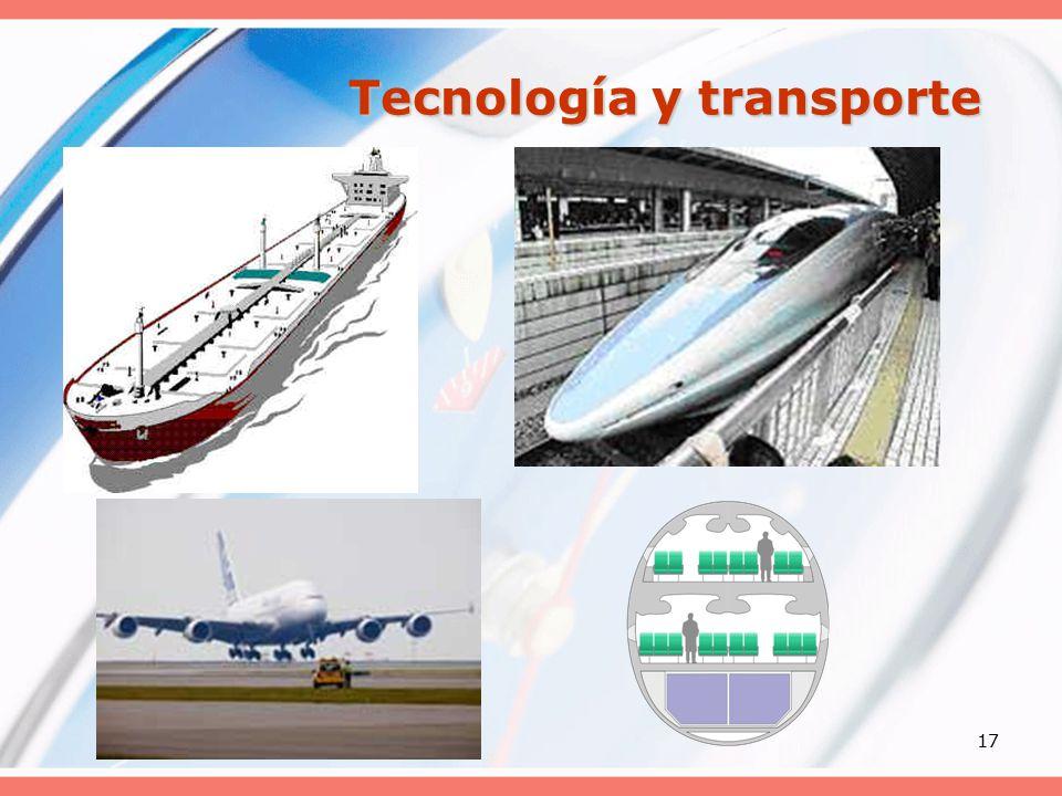 17 Tecnología y transporte