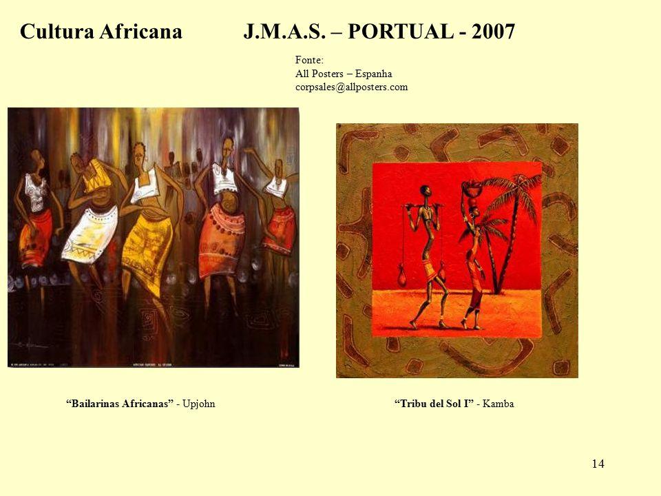 14 Tribu del Sol I - Kamba Bailarinas Africanas - Upjohn Cultura AfricanaJ.M.A.S.