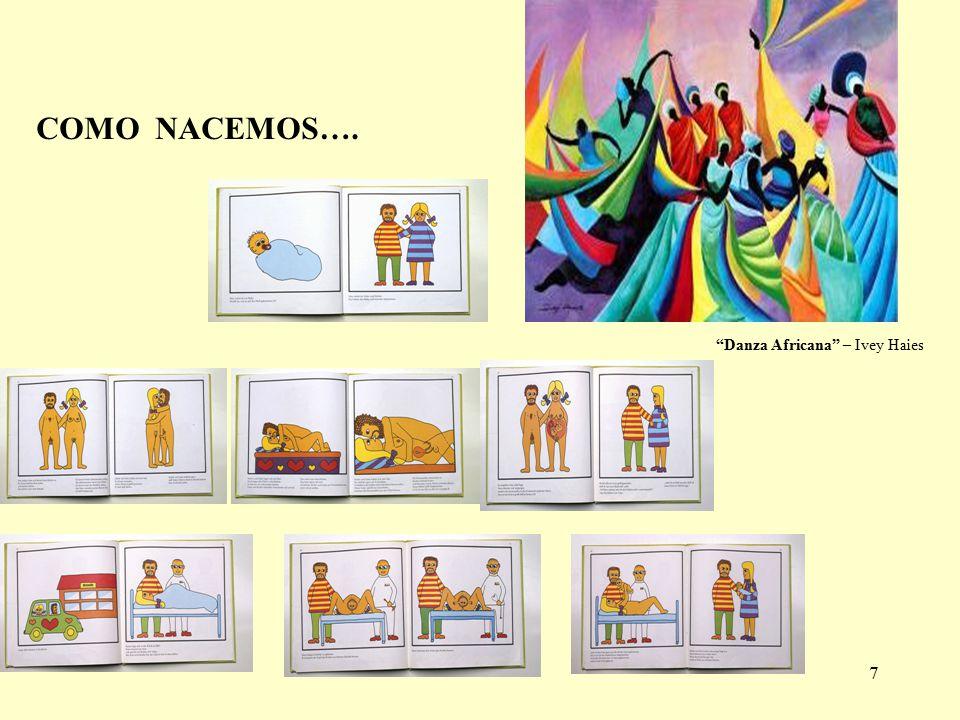 7 COMO NACEMOS…. Danza Africana – Ivey Haies