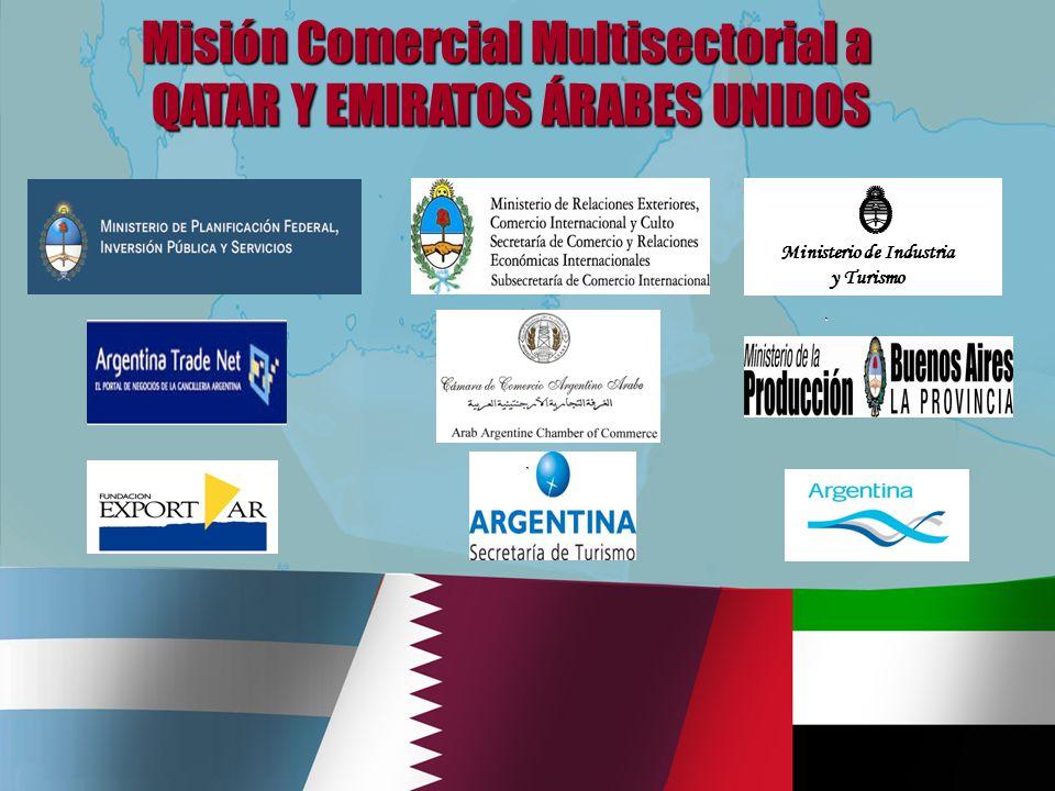 Ministerio de Industria y Turismo Misión Comercial Multisectorial a QATAR Y EMIRATOS ÁRABES UNIDOS