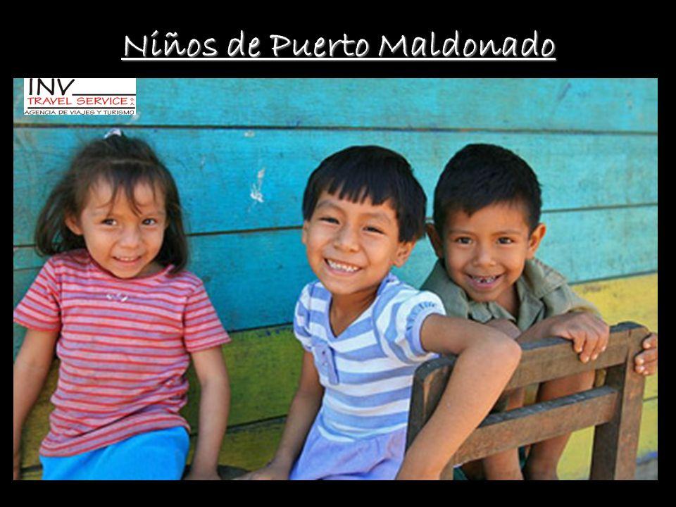 Niños de Puerto Maldonado