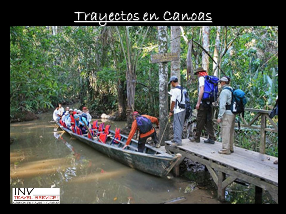Trayectos en Canoas