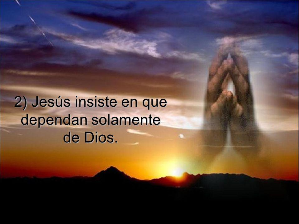 Además del 'cuándo', Jesús decide el 'dónde' y el 'cómo' del viaje.