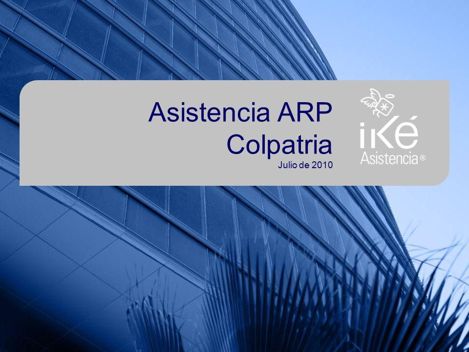 Asistencia ARP Colpatria Julio de 2010