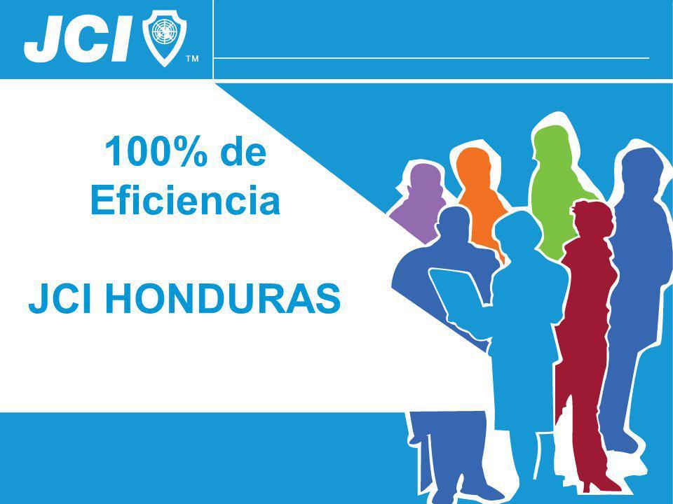 100% de Eficiencia JCI HONDURAS