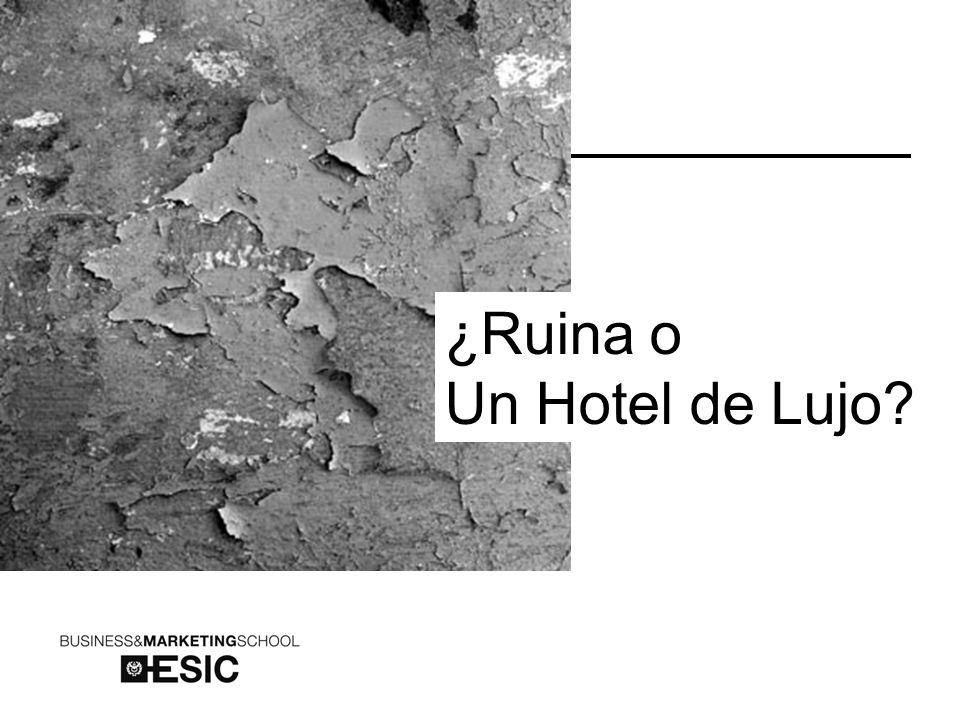 ¿Ruina o Un Hotel de Lujo