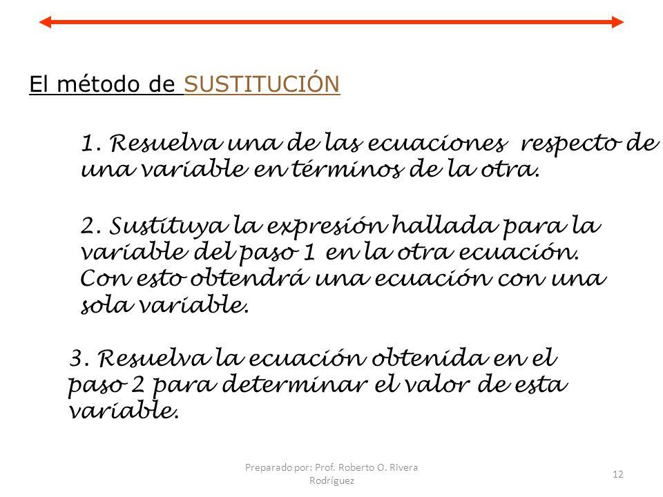Preparado por: Prof.Roberto O. Rivera Rodríguez 13 Continuación 4.