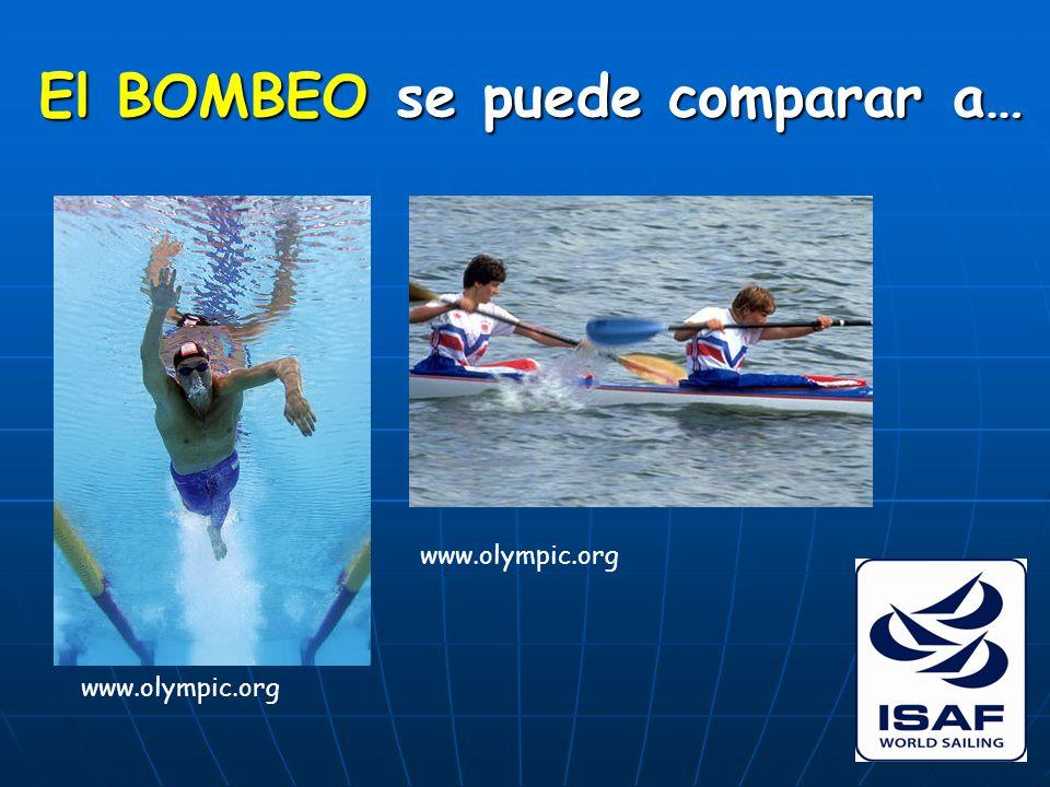 El BOMBEO se puede comparar a… www.olympic.org