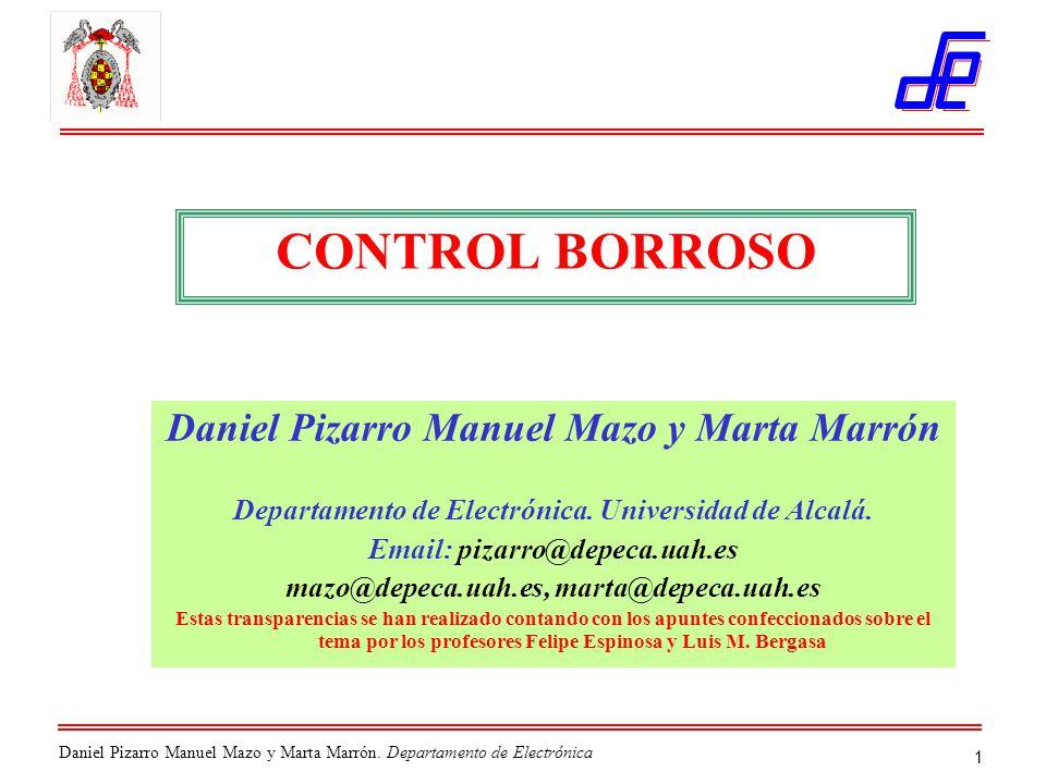 Daniel Pizarro Manuel Mazo y Marta Marrón.