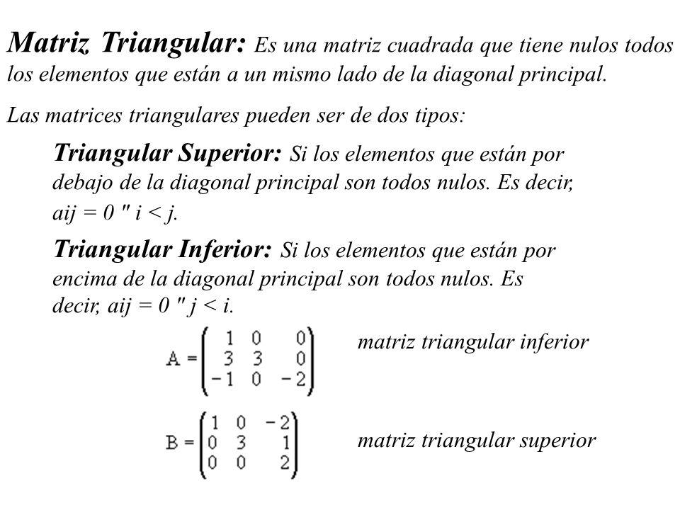 elementos de la matriz: