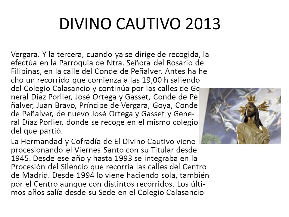 DIVINO CAUTIVO 2013 Vergara.