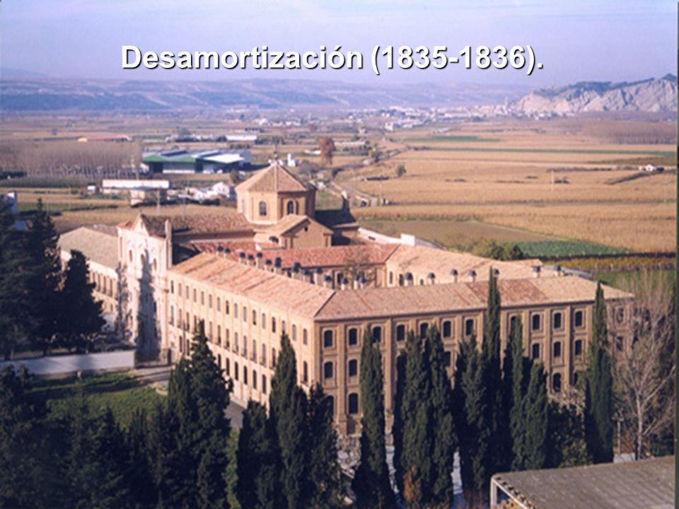 Desamortización (1835-1836).