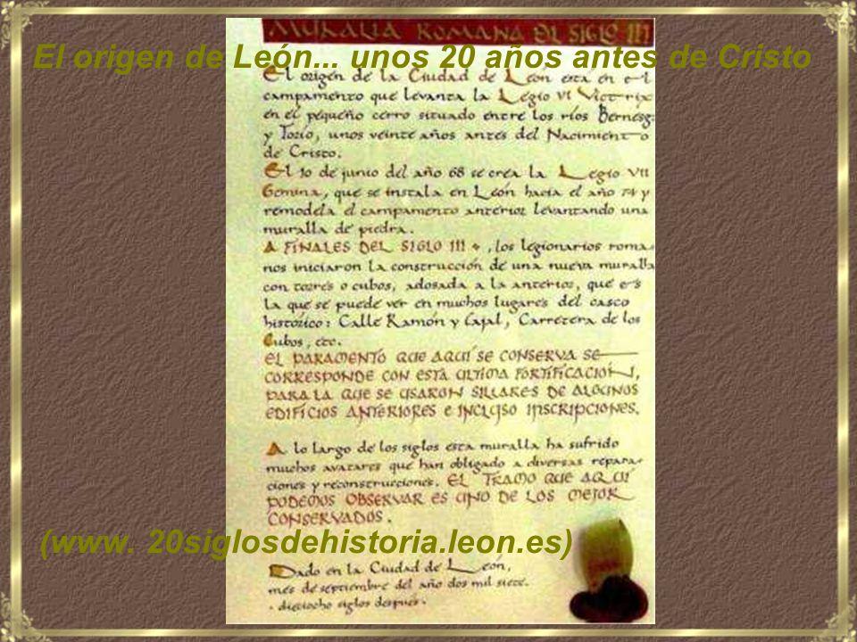 León, 20 siglos de historia -España- MÚSICA: Haendel y Cecilia Bartoli