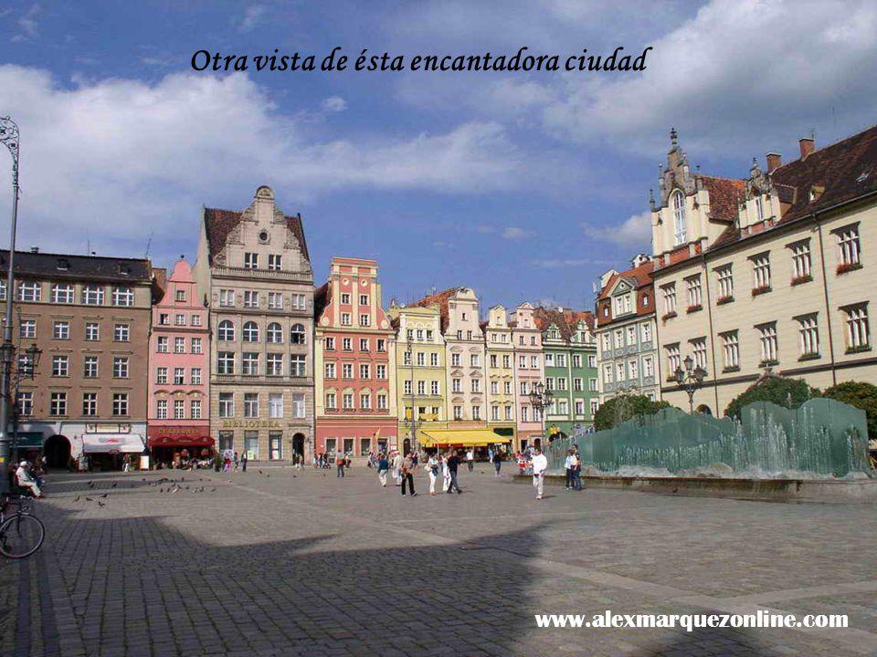 Wroc aw 4ª ciudad de Polonia en importancia, 630.000 h.