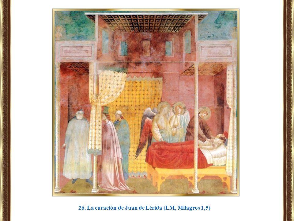 26. La curación de Juan de Lérida (LM, Milagros 1,5)