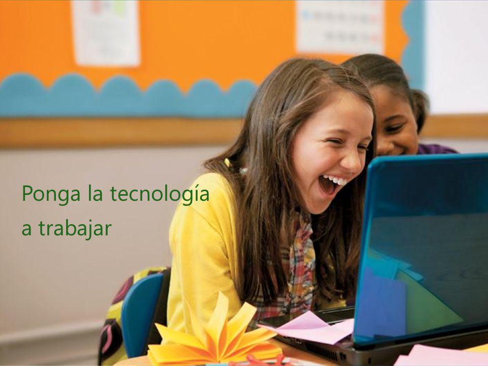Ponga la tecnología a trabajar