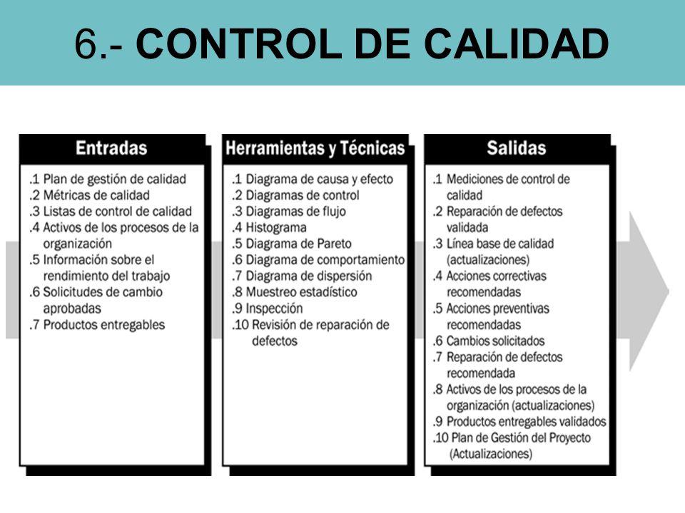 6.- CONTROL DE CALIDAD