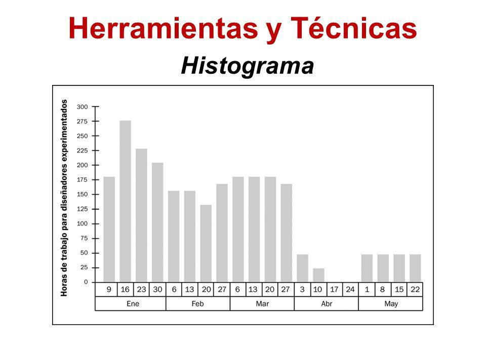 Herramientas y Técnicas Histograma