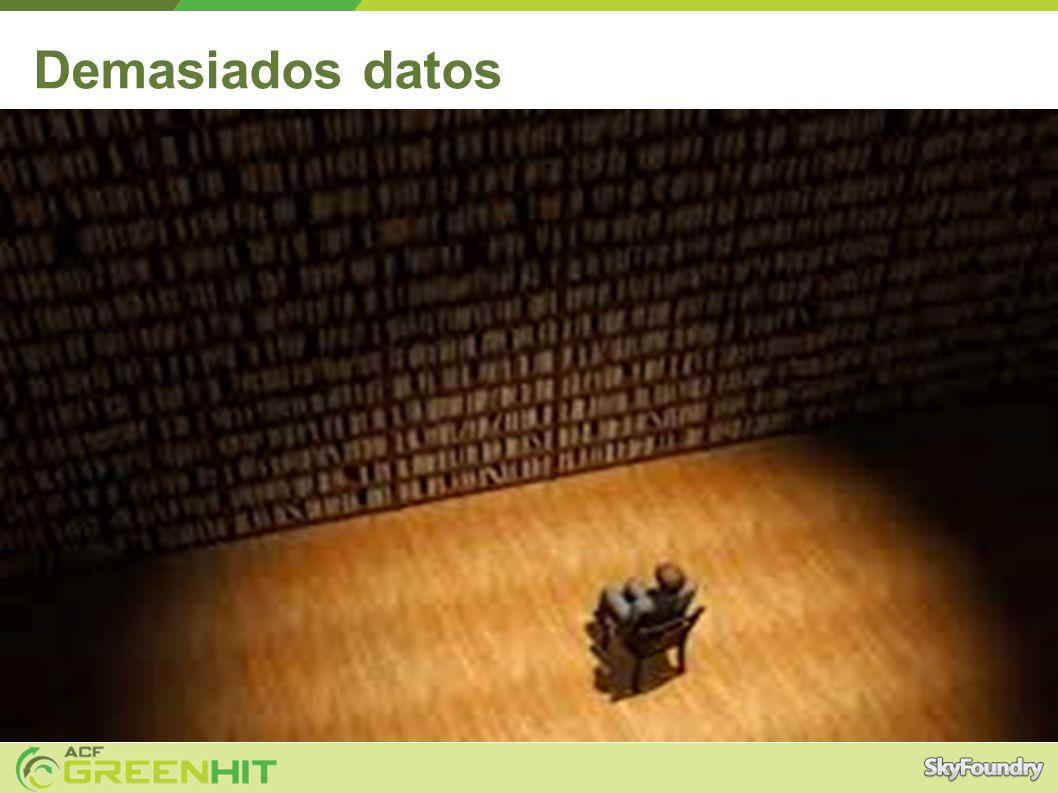 Demasiados datos