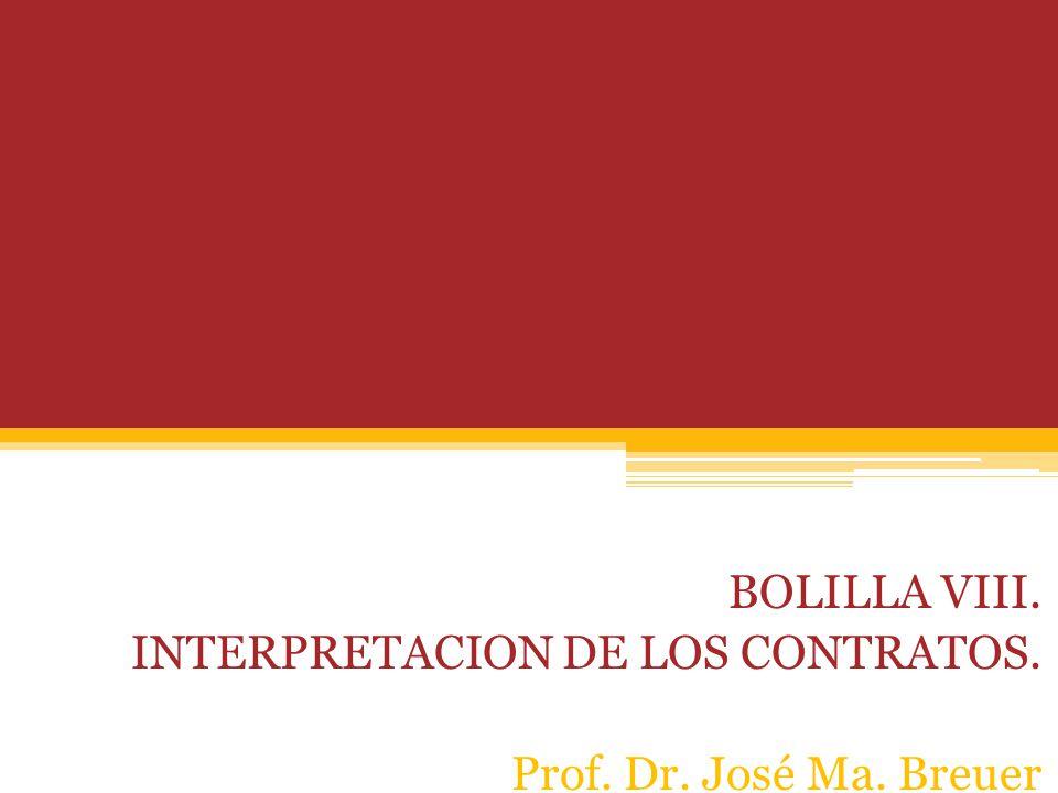 BOLILLA IX EL PROBLEMA DE LA PRESTACIONES BOLILLA VIII.